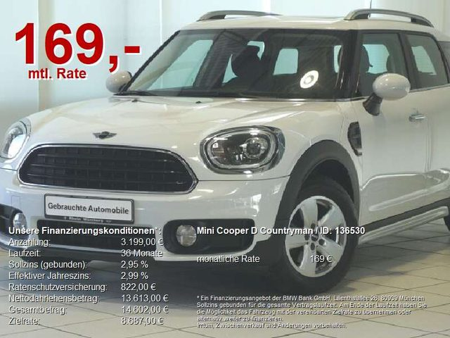Cooper D Countryman, Panorama/LED/PDC/SHZ/Alu/