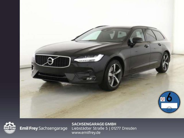V90, D4 Geartronic R Design Pano Haed-up-Display