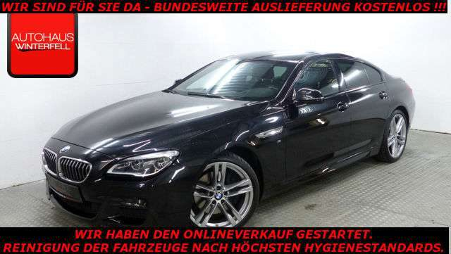 BMW, 640, Gran Coupé d xDrive M SPORT MEMORY,SPURW,LED