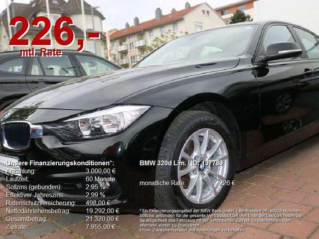 BMW, 320, d Lim. Advantage Navi.AHK.Tempo.FSE.