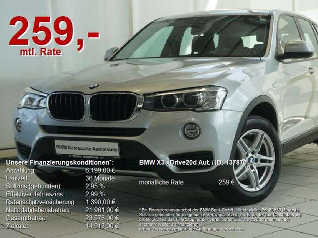 BMW, X3, xDrive20d Aut. Advantage