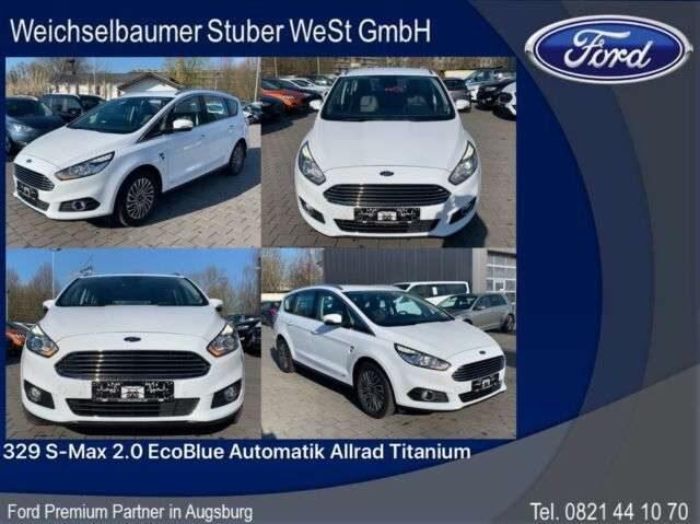 Ford, S-Max, 329 S-Max 2.0 EcoBlue Automatik Allrad Titanium
