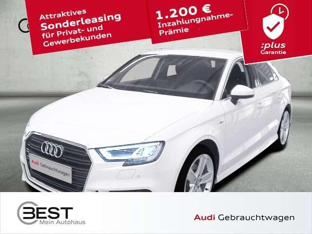Audi, A3, Limousine 35 TDI sport 2x S-Line LED, NAVI, DAB, 1