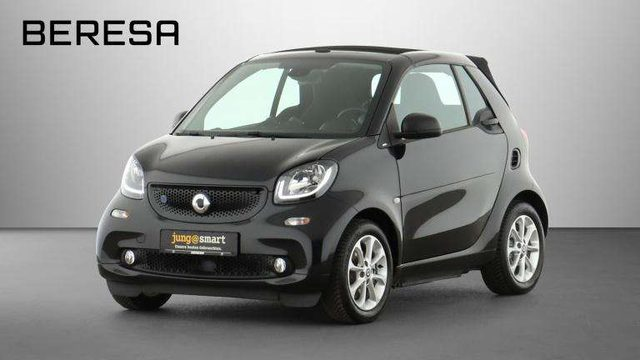 smart, forTwo, cabrio ed passion Sitzhzg Polster schwarz