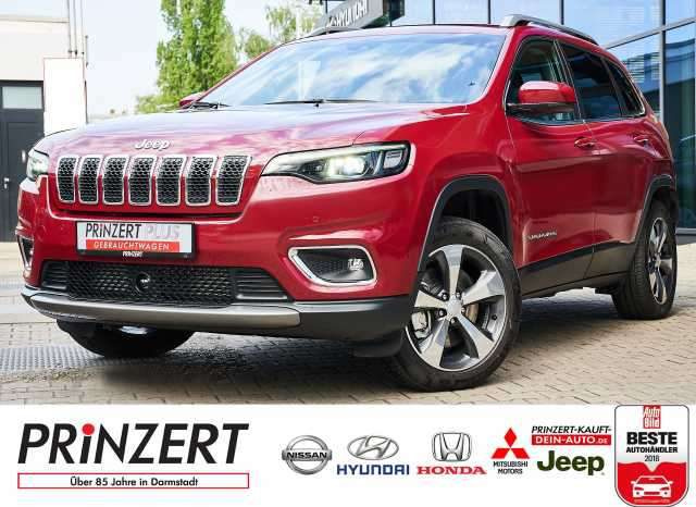 Cherokee, 2.2 AT Limited 4WD rot foliert