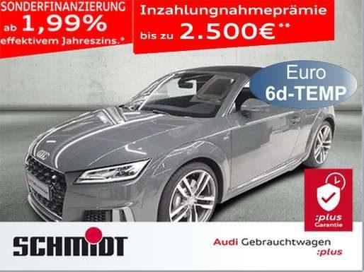 Audi, TT, Roadster 45 TFSI quattro S line Navi+, GRA, SHZ,