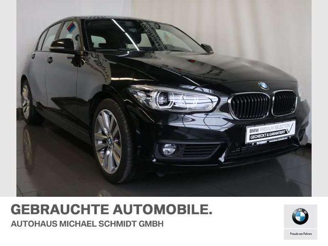 BMW, 116, i NAVI+LED+TEMPOMAT+SITZHEIZUNG+LORDOSE+