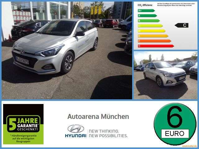 Hyundai, i20, 1.0 YES! 0% Finanzierung Kamera Spurw. Spurh.