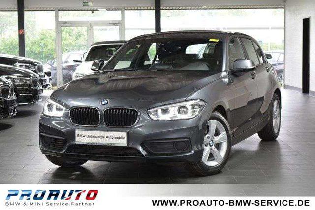 BMW, 118, i Aut. LED/LEDER/NAVI/PARKASSISTENT/SPEED LIMIT