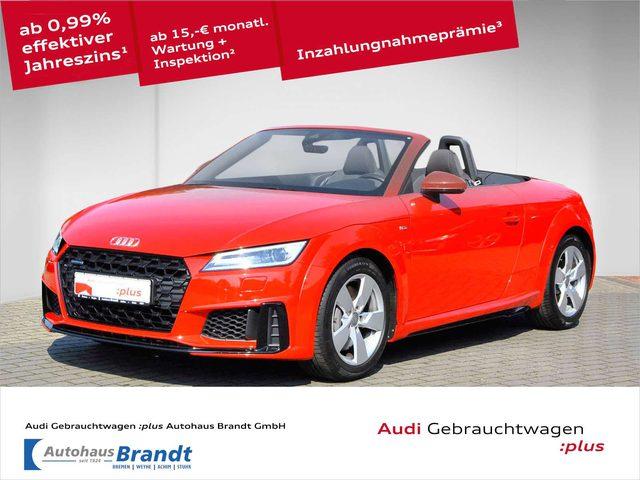 Audi, TT, Roadster 45 TFSI quattro S-LINE*S-TRONIC*XENON*GR