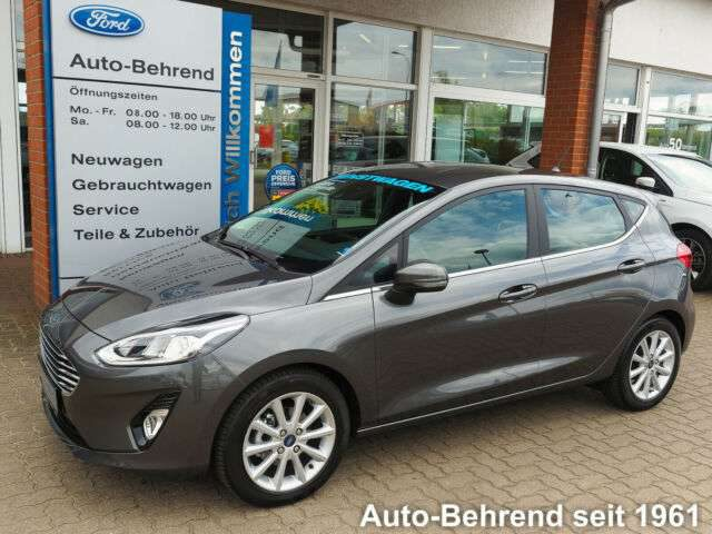 Ford, Fiesta, Titanium Easy-Driver-Paket Winterpaket