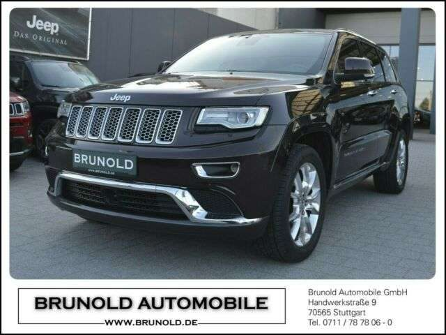 Jeep, Grand Cherokee, MY16 Summit 3.0l V6 184kW (250PS)