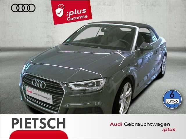 Audi, A3, Cabriolet 35 TFSI Sport -S-line Navi VC LED DAB