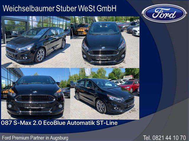Ford, S-Max, 087 S-Max 2.0 EcoBlue Automatik ST-Line