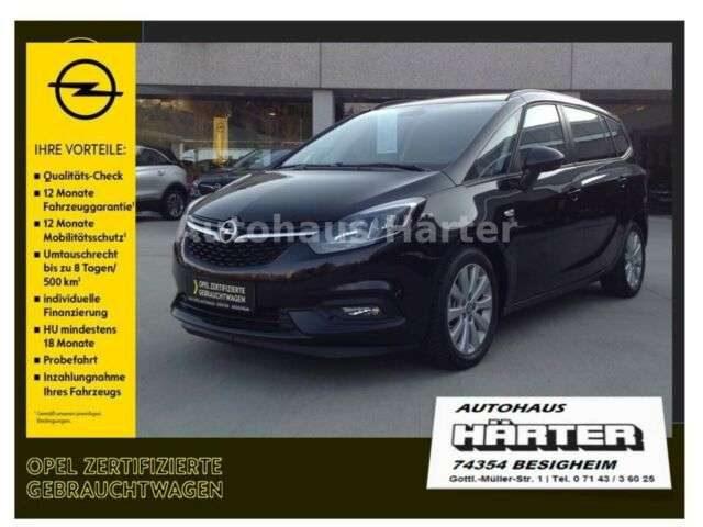 Opel, Zafira, 1.6Turbo 120-Jahre Kamera Sitz/Lenkradhzg