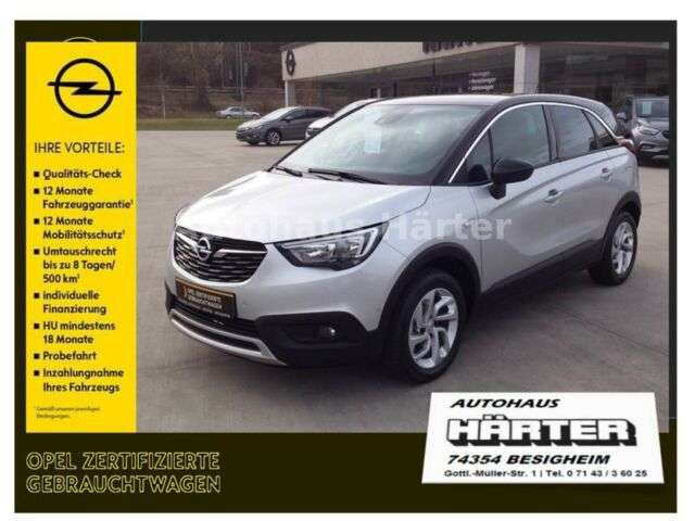Opel, Crossland X, INNOVATION*Navi*Kamera*Winter-Paket*