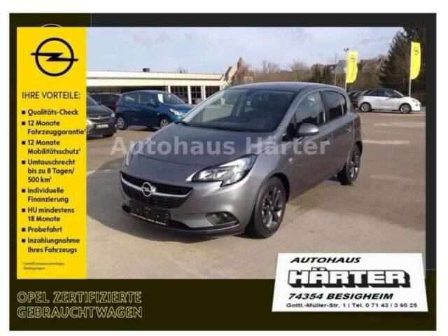 Opel, Corsa, 1.4 120 Jahre Automatik Sitz-/Lenkradheizg