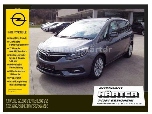 Zafira, 1.6 Turbo 120-Jahre*Kamera*Winter-Paket*