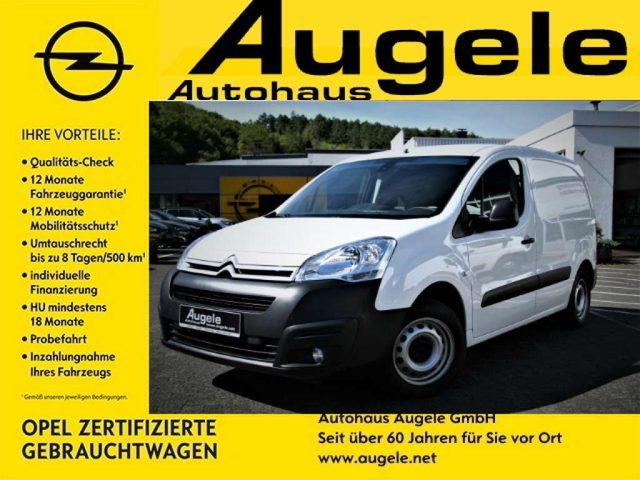 Berlingo, 1.6 BlueHDI 100 Kastenwagen Klima, PDC