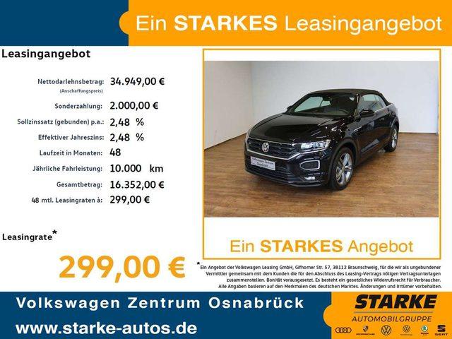 Volkswagen, T-Roc, Cabriolet 1.5 l TSI OPF DSG R-Line