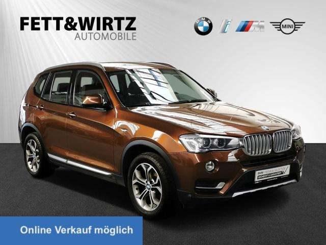 BMW, X3, xDrive20d xLine NaviProf. AHK Xenon Klima PDC