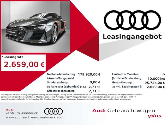 R8, Coupe V10 5.2 s-tronic quattro performance Laser