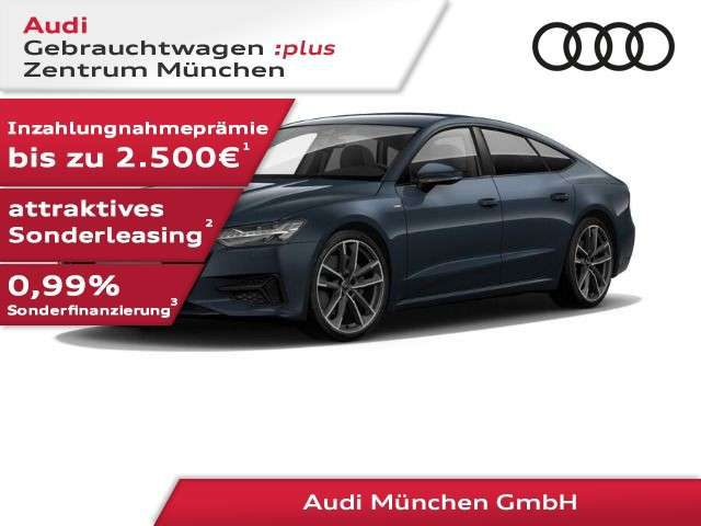 Audi, A7, Sportback 50 TDI qu. tiptr. S line StdHzg/HD-Matri
