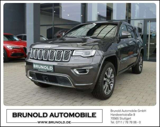 Jeep, Grand Cherokee, MY18 Overland 3.0l V6 MultiJet