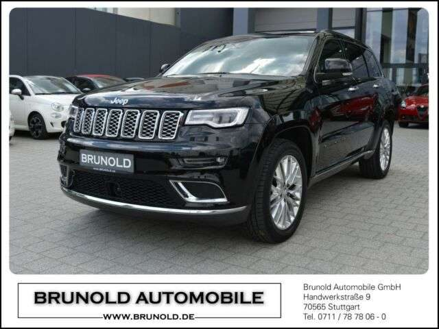 Jeep, Grand Cherokee, MY17 Summit 3.0l V6 MultiJet