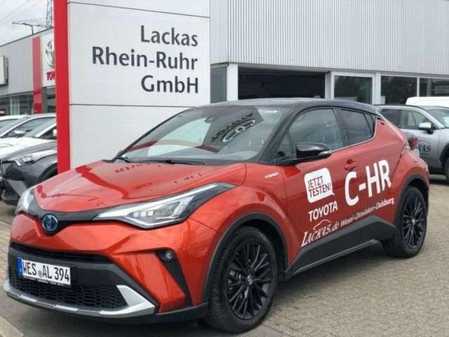 C-HR, Hybrid Orange Edition....