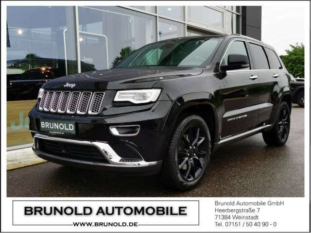 Jeep, Grand Cherokee, Summit 3.0l V6 (250 PS) EURO6