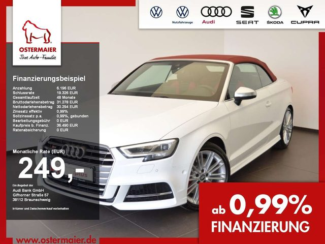 Audi, S3, 2.0 TFSI CABRIO AKUSTIK VERDECK ASSISTENZ PAK