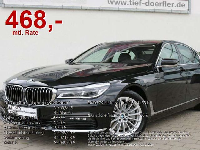 750, i Limousine AHK/GESTIK/MASSAGE/GARAGE/SoftClo