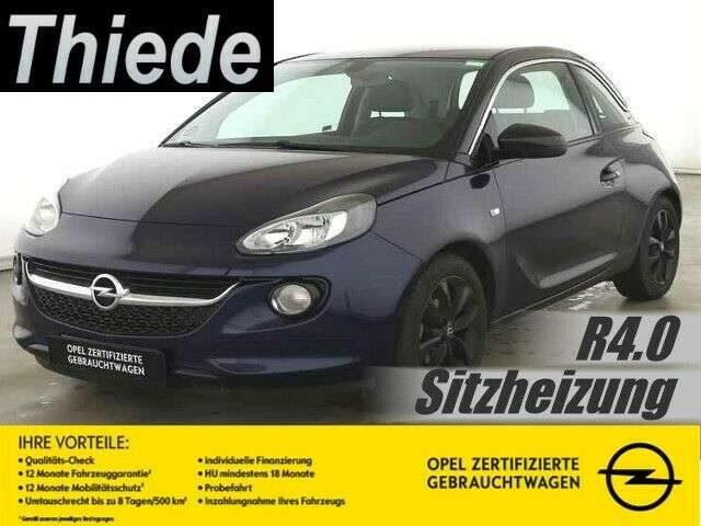 Opel, Adam, 1.4 JAM R4.0/SHZ/PDC/ALU-BLACK
