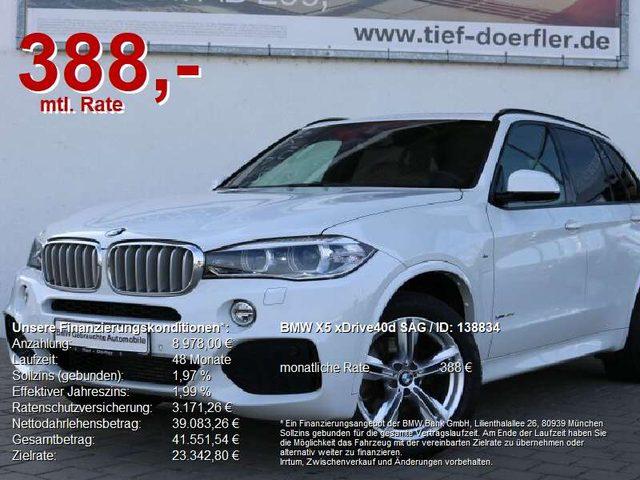 BMW, X5, xDrive40d SAG M Sport AHK/SITZBEL/KAMERA/PANO