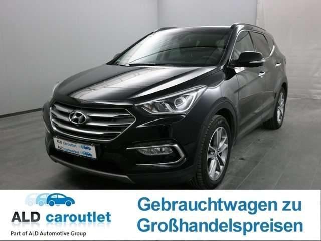 Hyundai, Santa Fe, blue 2.2 CRDI 4WD Automatik Premium Gesc