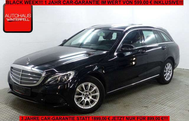 Mercedes-Benz, C 250, T 9G EXCLUSIVE PANO+STANDHEIZUNG+LED+NAVI
