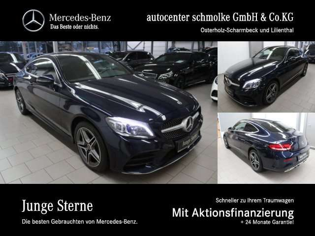 Mercedes-Benz, C 400, 4-M COUPE AMG-LINE*VOLLDIGITALES DISPLAY AMG Line