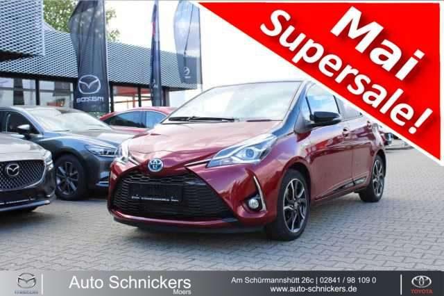 Toyota, Yaris, 1,5-Hybrid Style Selection Red PAN