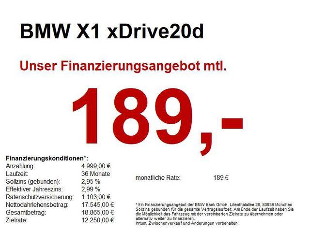 X1, xDrive20d Advantage Parkass./SH/Tempo/PDC/uvm