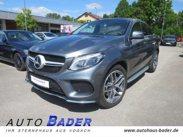 Mercedes-Benz, GLE 400, 4Matic Coupe AMG Line Panorama DISTRONIC