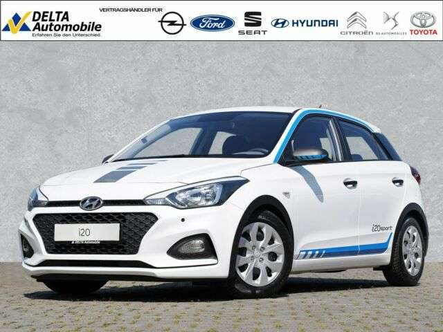 Hyundai, i20, 1,2 Pure Navi PDC Sitzh. Sport