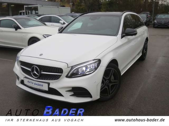C 400, 4Matic T-Modell AMG Line Night COMAND Panorama