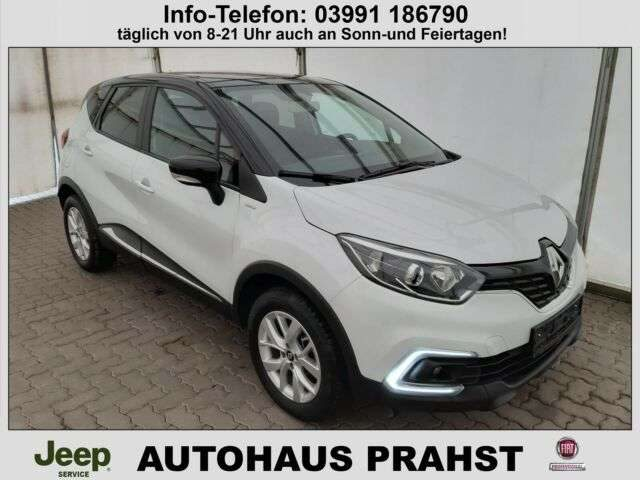 Renault, Captur, 90 TCE Limited Navi, Tempomat, Alu
