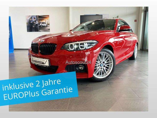 BMW, 218, d Coupe M-Sport Auto. Navi PDC SHZ Stop&Go