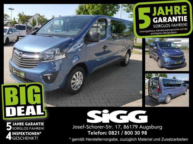 Opel, Vivaro, 1.6 CDTI Combi L2 I 9-Sitzer I Navi I PDC