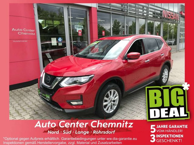 X-Trail, 2.0 dCi Acenta 4x4 Pano-Schiebedach PDC