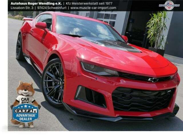 Camaro, ZL1 6 GANG PDR SYSTEM CLEAN CARFAX