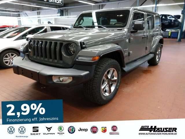 Jeep, Wrangler, JL Sahara MY19 2.0 T-GDI 4x4 AT8 DUAL TOP