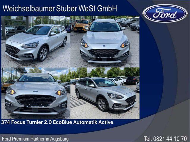 Ford, Focus, 374 Focus Turnier 2.0 EcoBlue Automatik Active